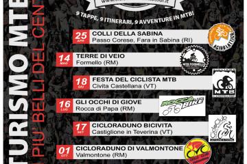 Calendario Cicloturismo MTB Tour 2017