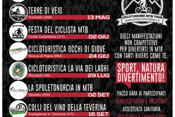 Calendario Cicloturismo MTB Tour 2018