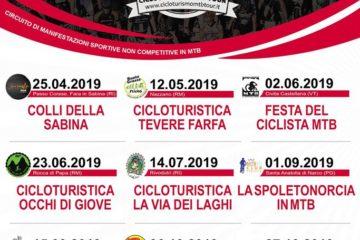 Calendario Cicloturismo MTB Tour 2019