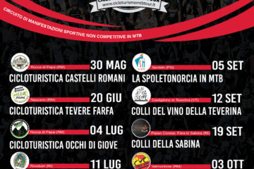 Calendario Cicloturismo MTB Tour 2021